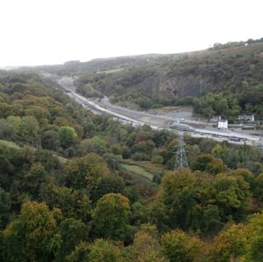 A465 Heads Of Valleys Section 2 Improvement - Distance